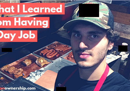 The Number One Thing I Learned from Having a Day Job